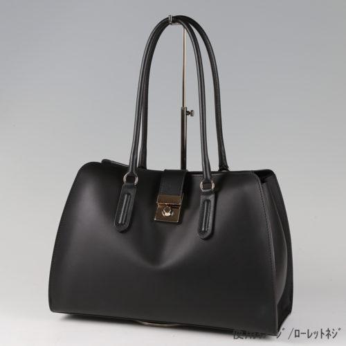 ●卓上バッグ掛けスタンド使用イメージ画像 ●バッグスタンドA-L ローレットネジ仕様 ●画像はバッグをディスプレイしたイメージ画像です。(画像のバッグは商品に含まれません)