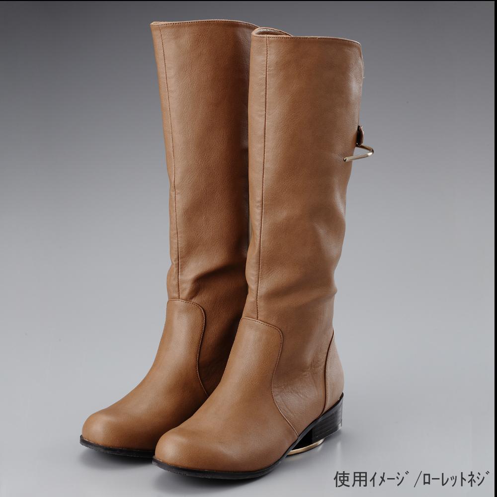 ●使用イメージ画像 ●ブーツスタンド両足用 ローレットネジ仕様 ●画像はブーツをディスプレイした際のイメージ画像です。(画像のブーツは商品に含まれません)