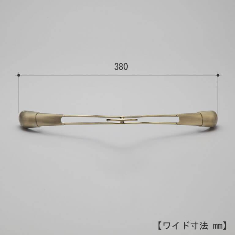 シャツハンガー レディース TSW-2358R-38 W380T30 【10本セット】