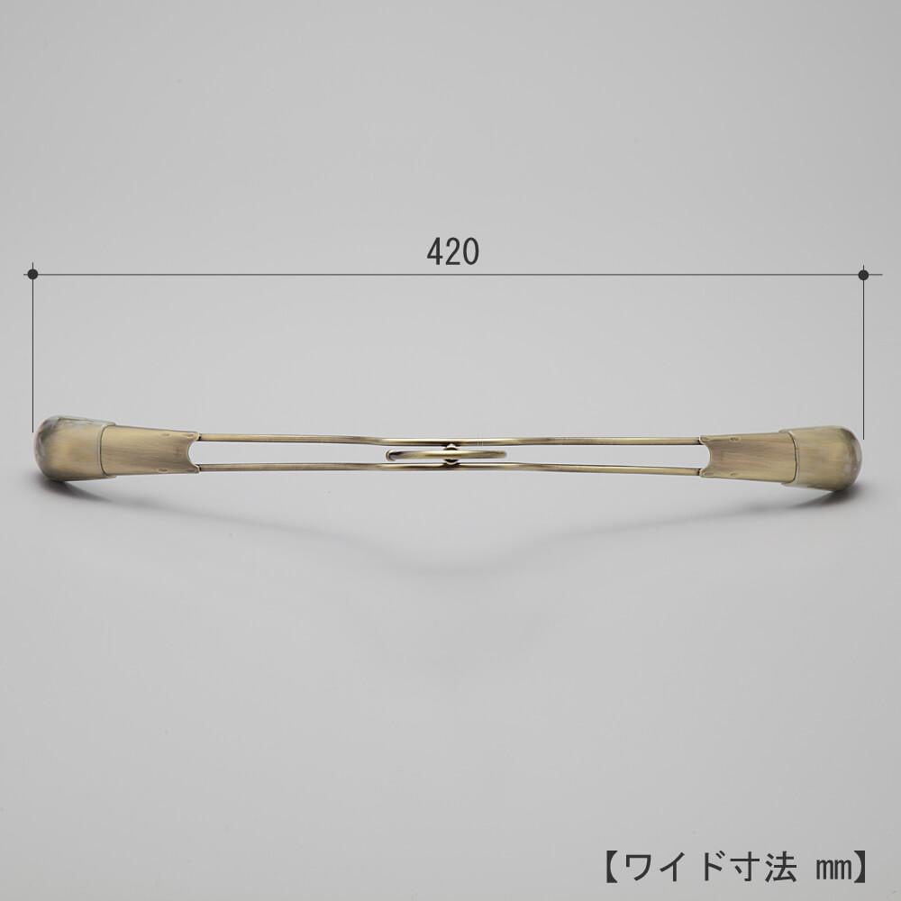 メンズ 肩先カバー付ハンガー TSW-2458 10本セット