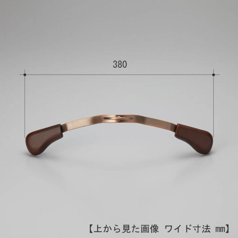 ジャケット用ハンガー レディース TFB-1379R W380T50 【10本セット】