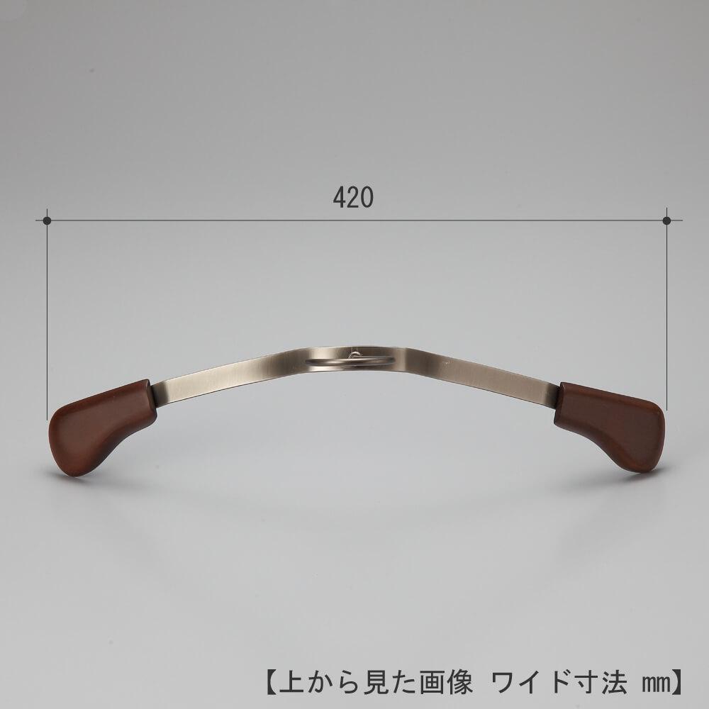 メンズ フラットバージャケットハンガー TFB-1479 10本セット