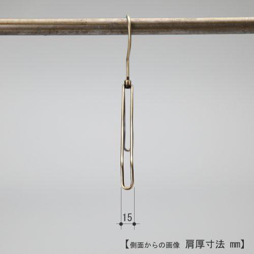 ハンガーを横から見た画像 TSK-2361 肩先の厚み15mm