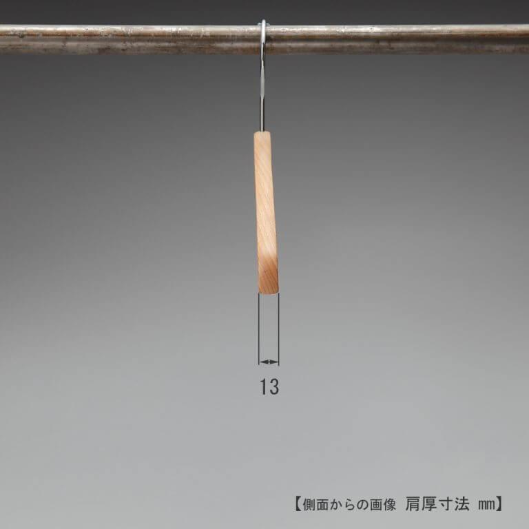シャツ用木製ハンガー 10本セット TY-20 ※最低販売可能本数20本から ※受注生産品のため返品・交換不可