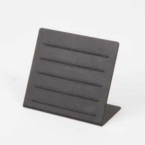 オーダーメイド プライススタンド/OM-DP-001/材質:鉄/黒艶消塗装仕上/マグネットの値札を張り付けて使用するプライススタンド