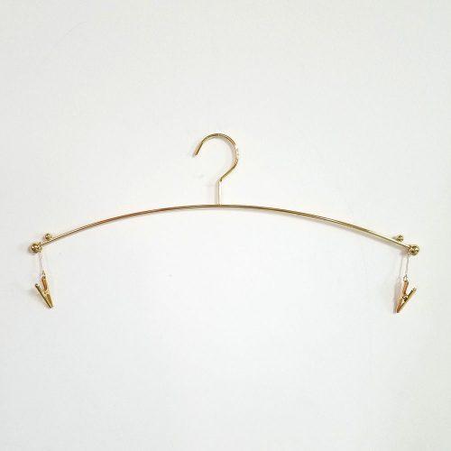 ●在庫処分商品 ●新品●インナー・下着用ハンガーIN501 ●通常より色が赤めのため、特価で販売 ●通常のゴールドメッキと一緒にご使用になると、多少色の差がございますので、ご了承下さい。