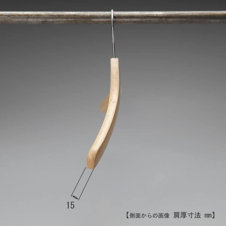 シャツ用木製ハンガー TY-04(塗装色)  【10本セット】 ※最少販売本数20本 ※受注生産品のため返品・交換不可