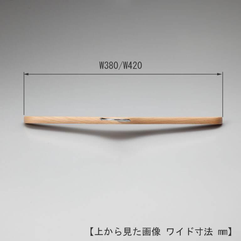 シャツ用木製ハンガー 10本セット TY-20(塗装色) ※最低販売可能本数20本から ※受注生産品のため返品・交換不可