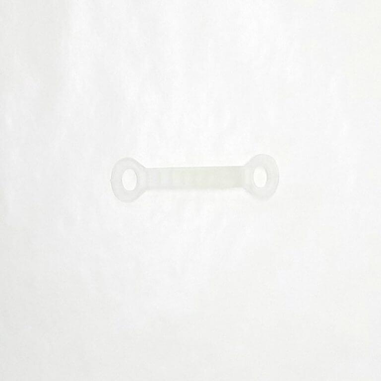 ハンガーすべり止めカバー 10mm 半透明  【100個】