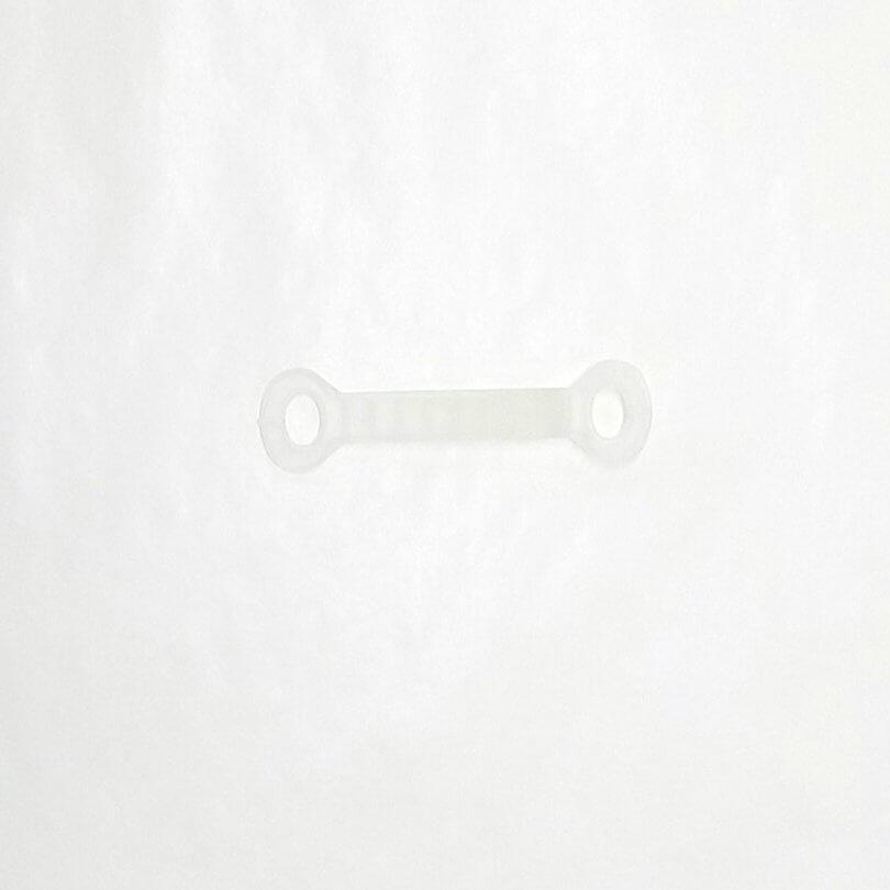 ハンガー用滑り止めカバー 幅10mm(輪っか部を除いた寸法)