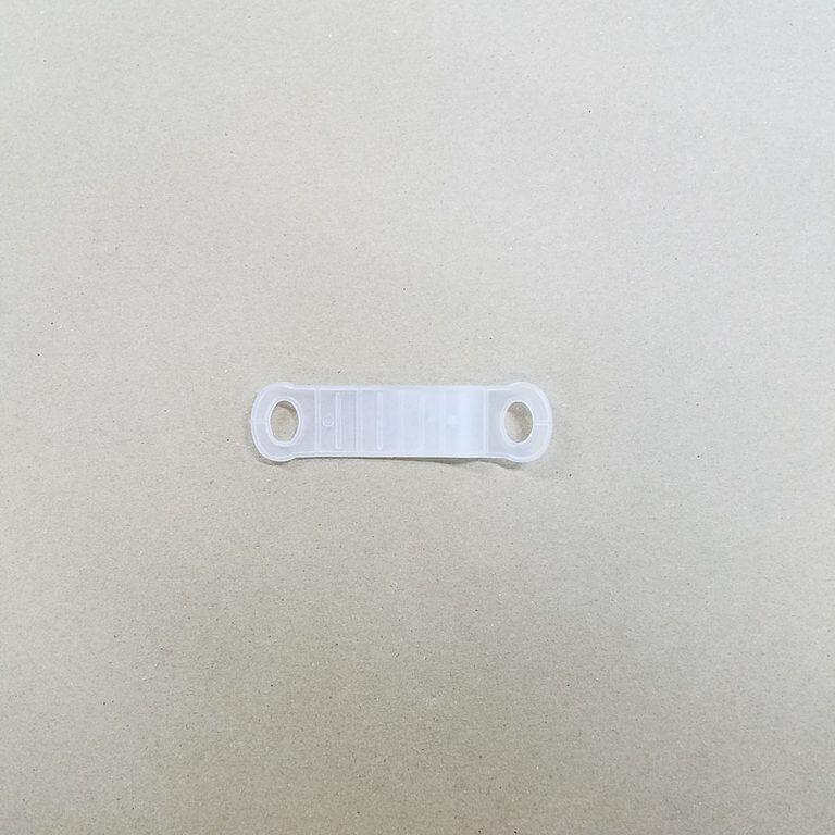 ハンガー用すべり止めカバー 20mm 半透明 【100個】
