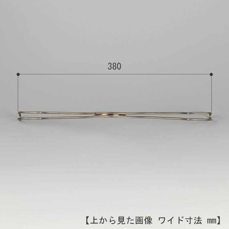 シャツハンガー レディース TSW-2361BF-BT-38 W380T15 フック固定【10本セット】