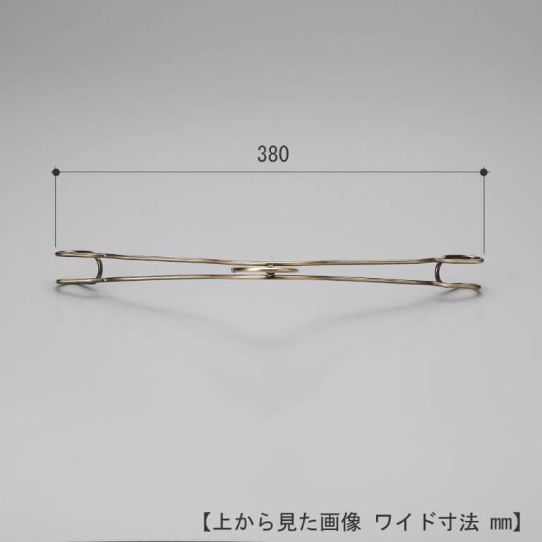 レディース ダブルラインシャツハンガー TSW-2468A 10本セット