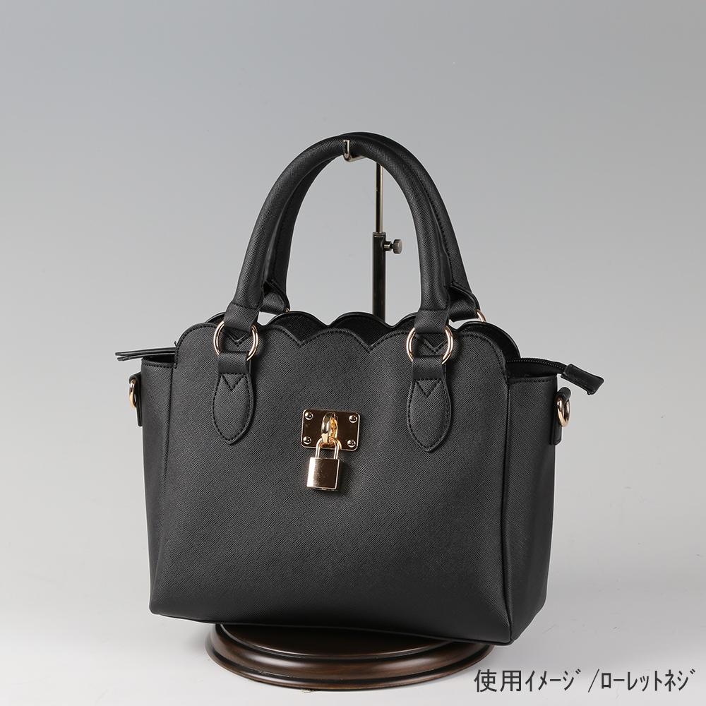 ●卓上バッグ掛けスタンド使用イメージ画像 ●バッグスタンドA-M ローレットネジ 木製ベース仕様 ●画像はバッグをディスプレイしたイメージ画像です。(画像のバッグは商品に含まれません)