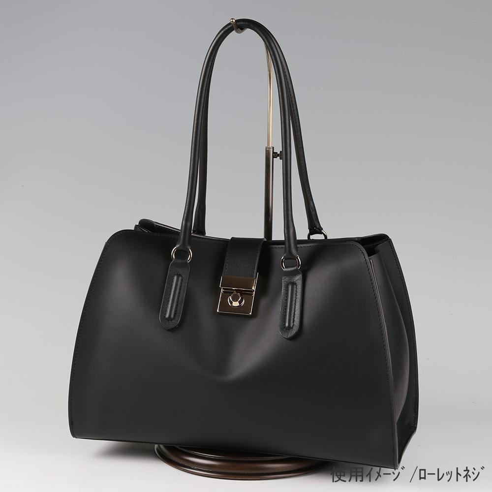 ●卓上バッグ掛けスタンド使用イメージ画像 ●バッグスタンドB-L ローレットネジ 木製ベース仕様 ●画像はバッグをディスプレイしたイメージ画像です。(画像のバッグは商品に含まれません)