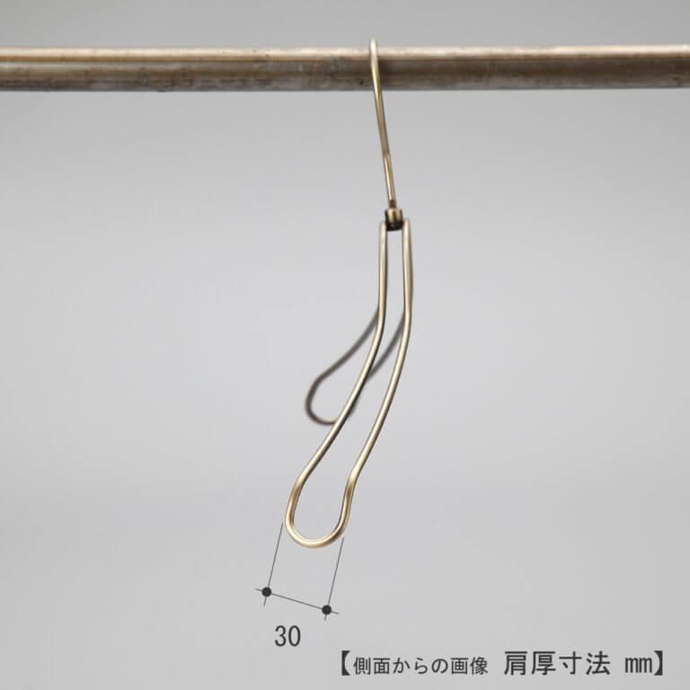 レンタルハンガー レディース ダブルラインジャケットハンガー RSL-01(TSW-1368)クロームメッキ 10本