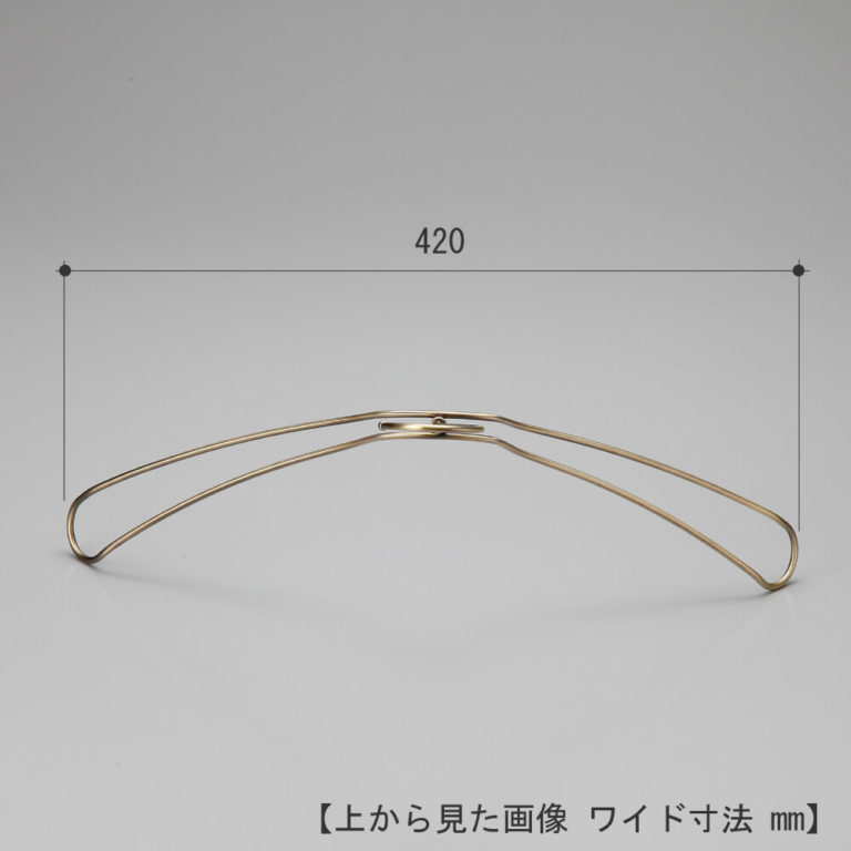 レンタルハンガー メンズ ダブルラインジャケットハンガー TSW-1467 10本 クロームメッキ