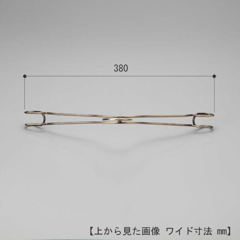 レンタルハンガー レディース ダブルラインシャツハンガー RSL-02(TSW-2368A)10本 クロームメッキ