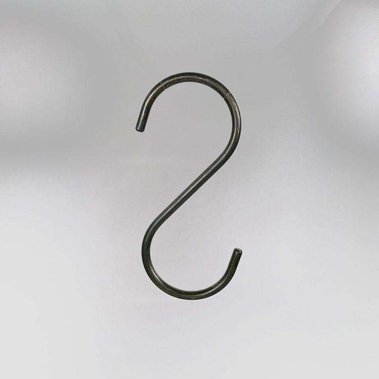 アウトレット品 #1018 (在庫限り品) S字フック セントク仕上【5本セット】