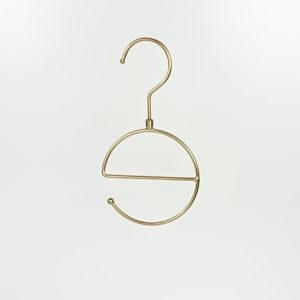 ハンガーセール品 スカーフ用 ゴールド艶消し#1072