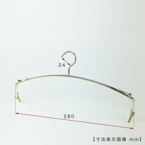 ●寸法表示画像 ●ワイド寸法:280mm ●線径:2.5φ ●型番:IN-502F-28-IBMC