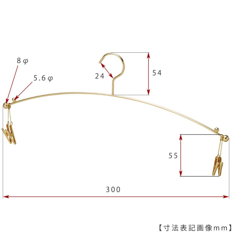 ●寸法標記画像 ●型番:IN-501F-30-4MC-GO