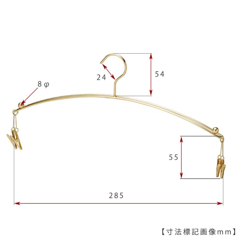 ●寸法標記画像 ●型番:IN-502F-28-4MC-GO