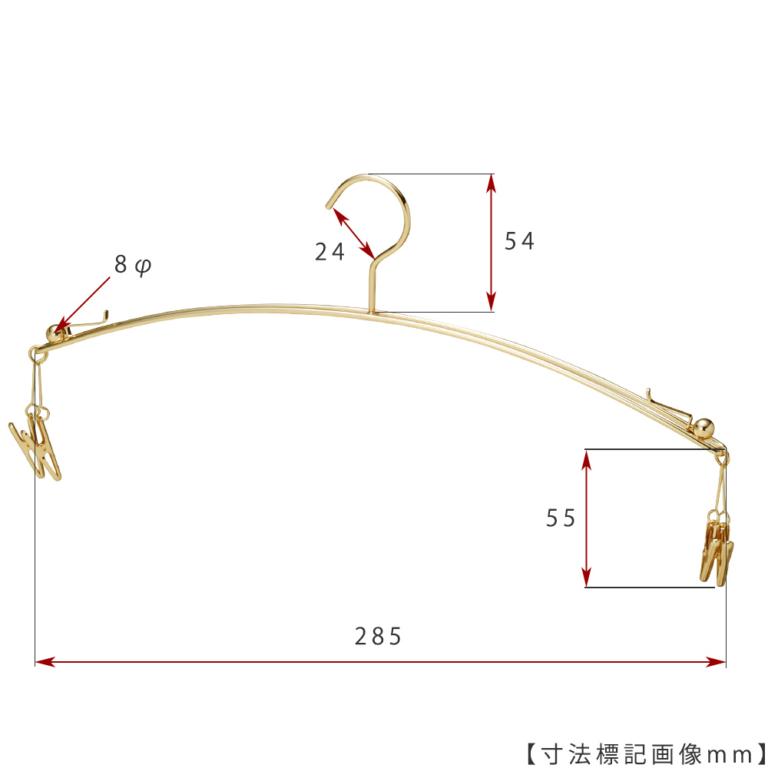 ●寸法標記画像 ●型番:IN-502F-28-IB-4MC-GO